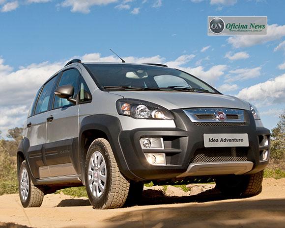 Fiat idea chega na linha 2016 com mais itens de s rie for Nuevo fiat idea adventure 2015