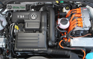 Modelo esportivo híbrido da Volkswagen é testado no Brasil