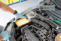 Troca das pastilhas de freio do VW SpaceFox