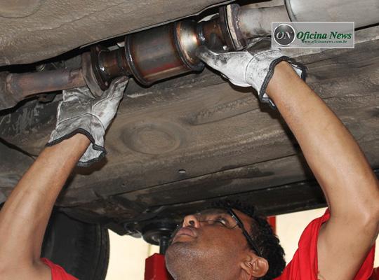 Troca do catalisador do VW Gol