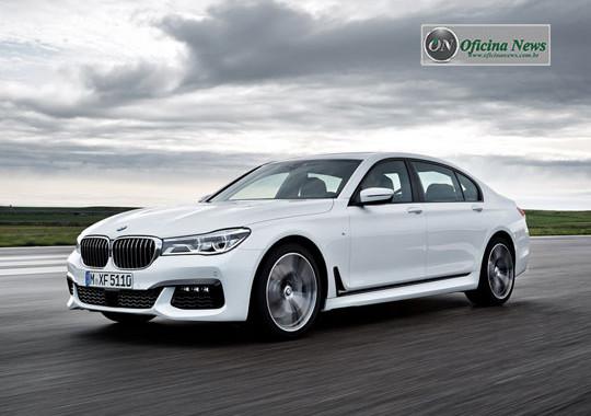 BMW Série 7, imponente, caro, quase autônomo