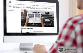 Manuais dos veículos Volkswagen estão disponíveis na internet
