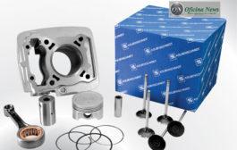 KS apresenta novas peças de motor para linha de motos