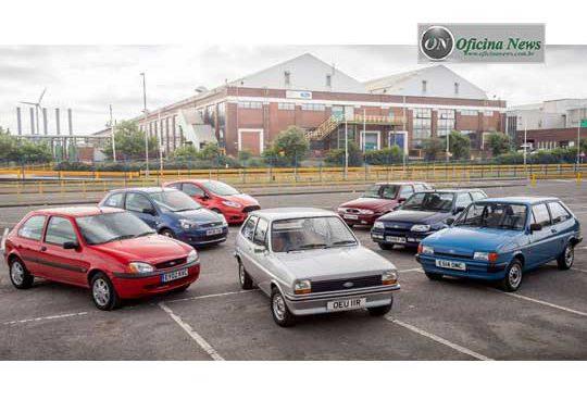 Ford Fiesta completa 40 anos de produção em plena forma