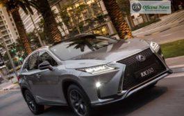 Lexus apresenta novo SUV premium RX 350 no Brasil