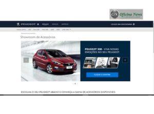 Peugeot estreia site intuitivo para acessórios originais - Oficina News