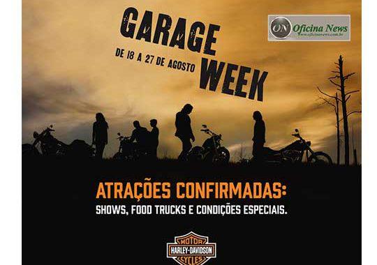 Harley-Davidson promove segunda edição do Garage Week