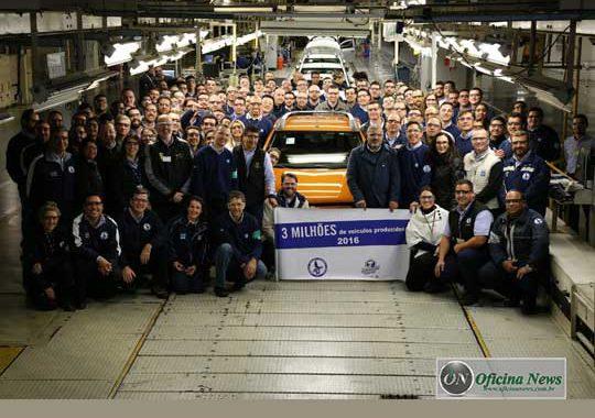 Fábrica da Chevrolet em Gravataí comemora recorde de produção