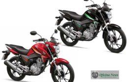 Honda CG 160 Titan e CG 160 Fan chegam com novos grafismos