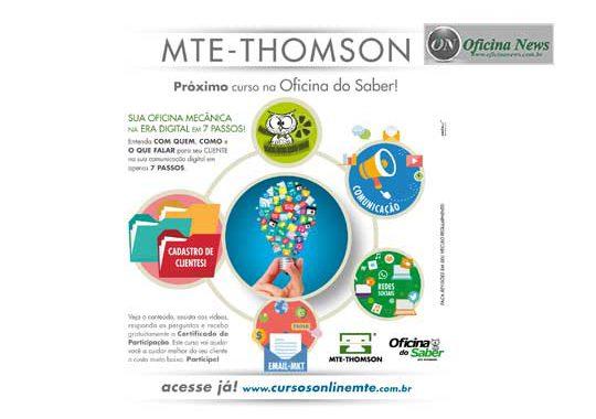 MTE-Thomson promove curso de rede sociais para mecânicos