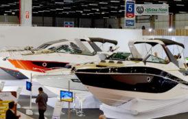 Boat Show traz novidades em barcos e em mecânica marítima