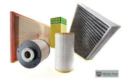 Mann Filter amplia linha com filtros para Toyota e VW