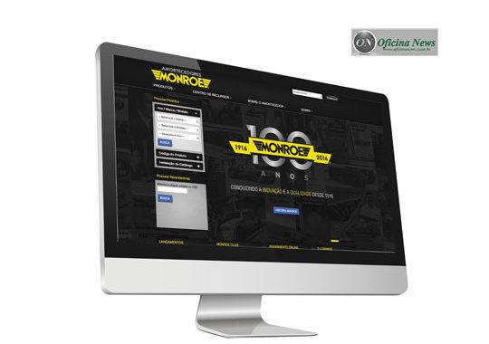 Monroe renova seu site focando facilitar acesso de reparadores