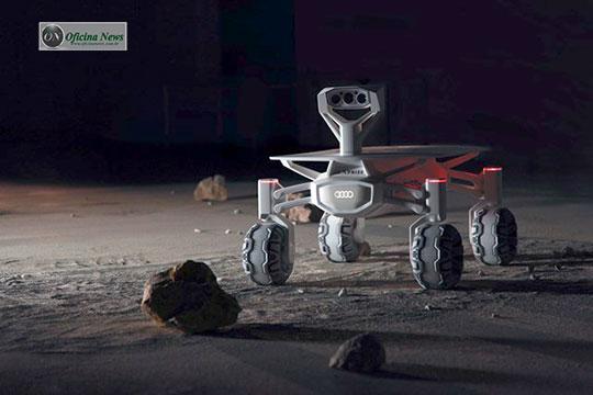 Audi apronta veículo para rodar na superfície da lua