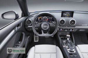 Audi RS 3 Sportback é renovado e ganha motor de 400 cv