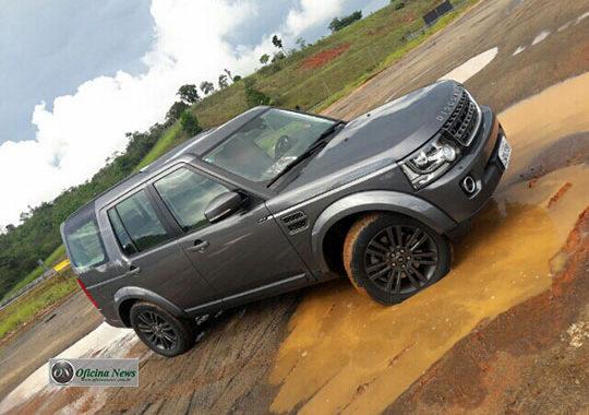 Range Rover Discovery Graphite: mecânica de primor