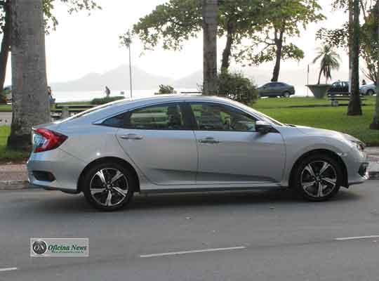 Honda Civc 10ª geração tem motor mais moderno e eficiente