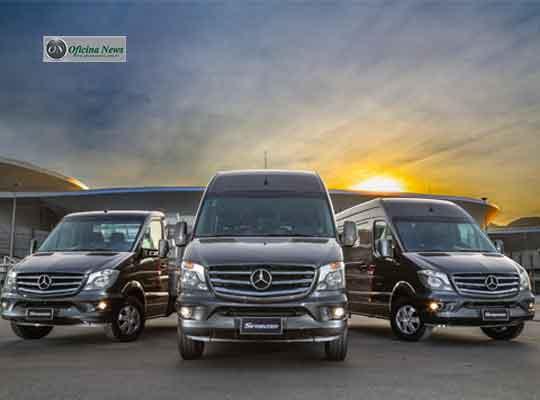 Mercedes-Benz Sprinter ganha série especial de 20 anos