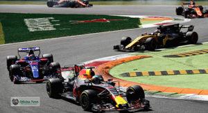 Disputa rara na F-1: quatro equipes, dois fabricantes de motores e vários pilotos (Red Bull)