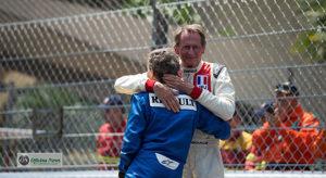 Alain Prost e Jean Pierre Jabouille, dois grande snomes na história da Renault na F-1 (Renault)