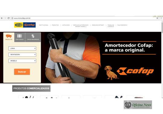 Marelli apresenta novo site para peças de reposição