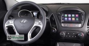 Hyundai New iX35 Flex vem agora com nova central multimídia