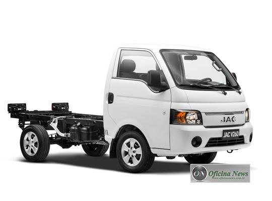 JAC MOTORS apresenta o V260, seu novo comercial leve