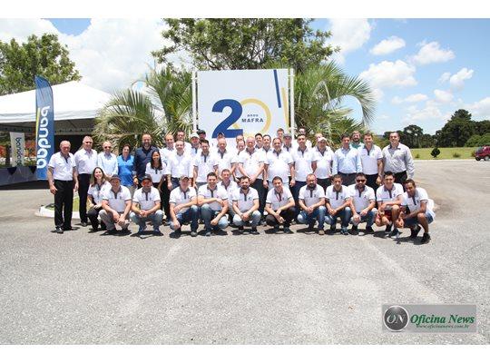 Bandag comemora 20 anos de sua fábrica localizada em Mafra