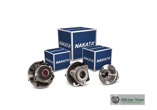 Nakata lança para o mercado de reposição cubos de roda