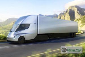 Caminhão elétrico Tesla