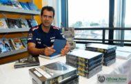 Nakata patrocina livro sobre o piloto Nonô Figueiredo