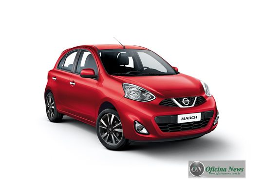 Bridgestone é a principal fornecedora do Nissan March