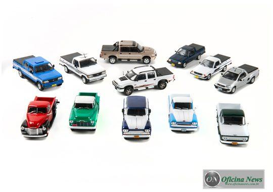 Chevrolet lança coleção alusiva aos 100 anos de picape