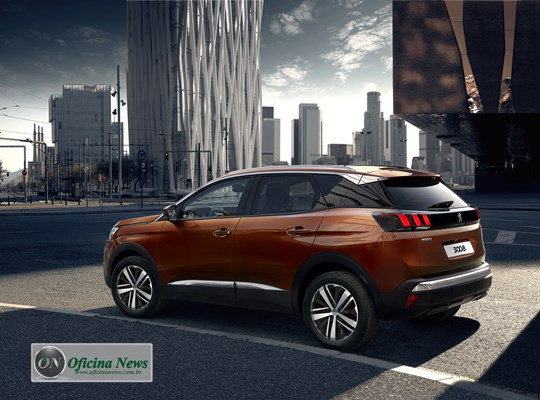 peugeot apresenta o novo suv peugeot 3008 griffe pack. Black Bedroom Furniture Sets. Home Design Ideas