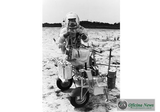 Goodyear desenvolveu pneus para a missão Apollo 14