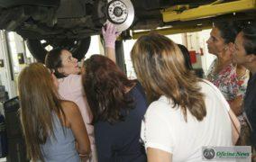 CAOA inicia segunda fase do curso de mecânica para mulheres