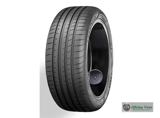 Goodyear exibe o pneu inteligente nas estradas de Genebra