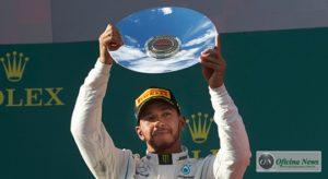 Segundo lugar não satisfez Lewis Hamilton (Mercedes)