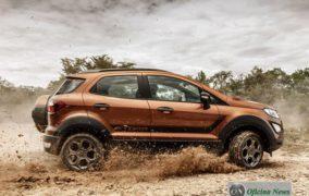 Ford apresenta o EcoSport Storm versão 4WD com nova cor