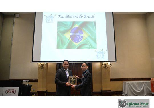 Kia Motors do Brasil conquista prêmio mundial de pós-vendas