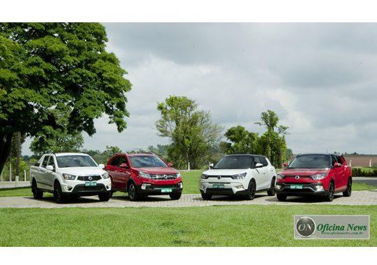 SsangYong Brasil anuncia oficialmente preços de 4 modelos
