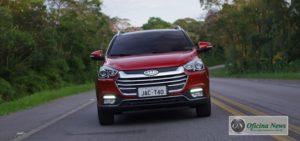 JAC T40 CVT faz sua estreia no mercado brasileiro este mês