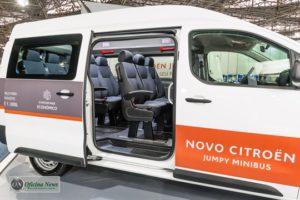 Citröen Jumpy Minibus tem a sua avant-première em São Paulo