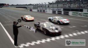 Bruce McLaren e Chris Amon conquistaram a primeira vitória da Ford em Le Mans, em 1966 (Ford)