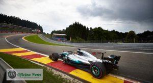 Até recentemente Lewis Hamilton era o recordista absoluto de Spa-Francorchamps (Mercedes)