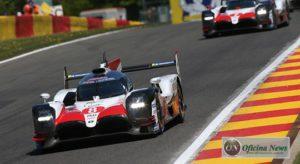 Fernando Alonso (8) venceu em Spa e está entre os favoritos para as 24 Horas de Le Mans deste ano (Toyota)