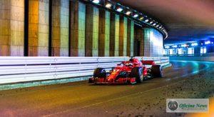 """Diferença para Ricciardo diminuia 0,3"""" cada vez que Vettel passava pelo túnel (Ferrari)"""