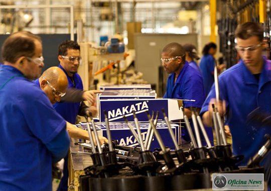 Fábrica da Nakata é certificada com a norma ISO 45001:2018