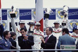 Jean Todt venceu em Le Mans como chefe da equipe Peugeot em 1992, (acima), 1993 e 2009 (Peugeot Sport)
