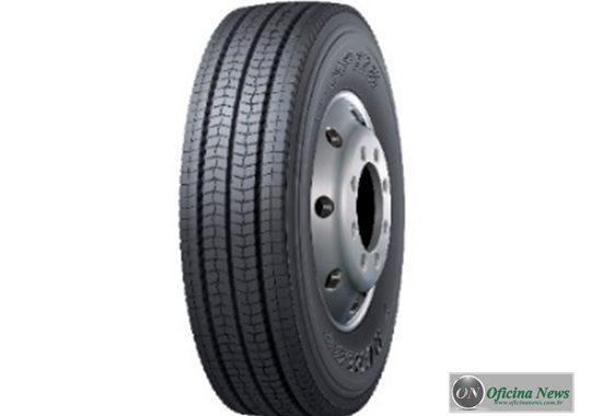 Dunlop lança primeiro pneu da marca para ônibus no Brasil